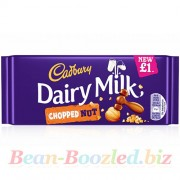 Cadbury Dairy Milk Chopped Nut Bar 95 гр, , 165руб., Cadbury Dairy Milk Chopped Nut Bar 95 гр, , Вкусняшки
