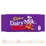 Cadbury Dairy Milk Fruit&Nut 110 гр, , 165руб., Cadbury Dairy Milk Fruit&Nut 110 гр, , Вкусняшки